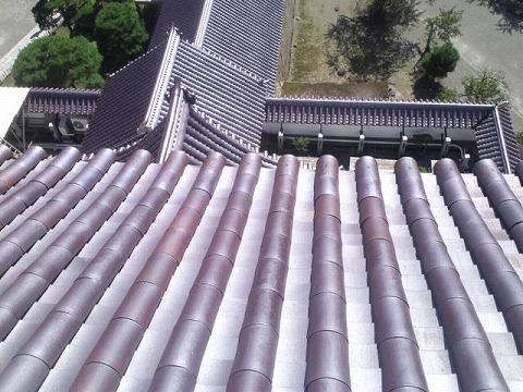 ⑰天守閣からの屋根瓦.jpg
