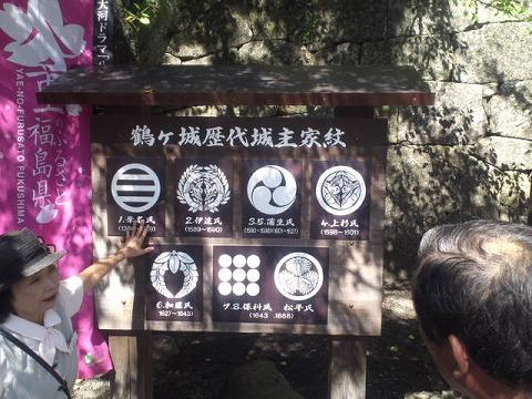 21鶴ケ城の歴代城主の家紋.jpg